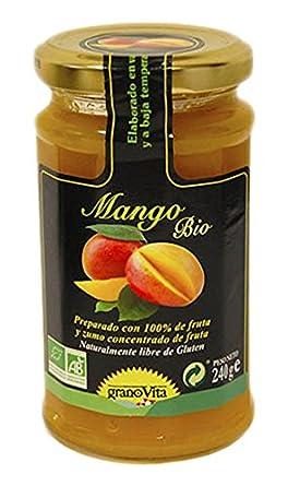 Granovita Mermelada Mango Bio - 240 gr: Amazon.es: Alimentación y bebidas