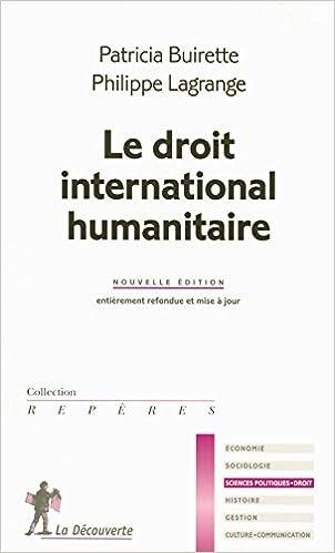 Livres gratuits en ligne Le droit international humanitaire pdf, epub ebook