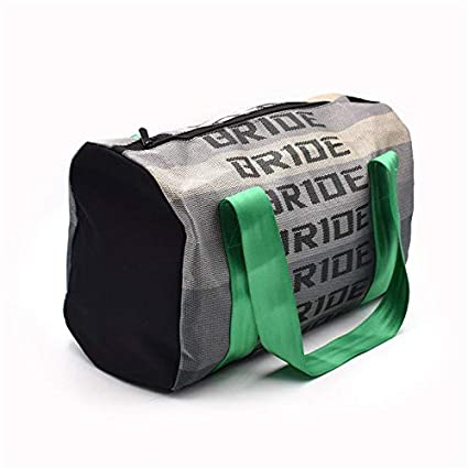 316a61e599e Amazon.com   JDM Bride Racing Carry Duffle Bag Plenty of Space for all Your  Racing Stuff COOL Green Strap   Everything Else