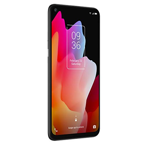 """TCL 10L, Unlocked Android Smartphone with 6.53"""" FHD + LCD Display, 48MP Quad Rear Camera System, 64GB+6GB RAM, 4000mAh Battery"""