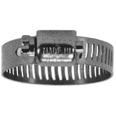 "Dixon MAH8 1/2"" Micro All Stainless Miniature Worm Gear Clamp (Pack of 10)"