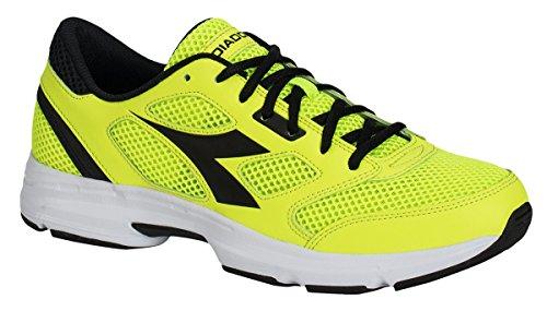 Diadora Shape 7, Zapatos para Correr Unisex Adulto amarillo