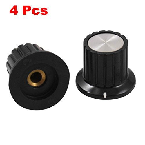 26 4 Pcs Potentiometer Control Handle 4 mm Shaft Insert Diameter ()