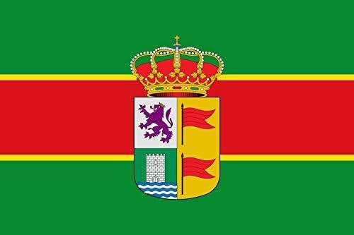 DIPLOMAT-FLAGS Palacios de la Valduerna, León, España Bandera | Bandera Paisaje | 0.06m² | 20x30cm Banderas de Coche: Amazon.es: Jardín