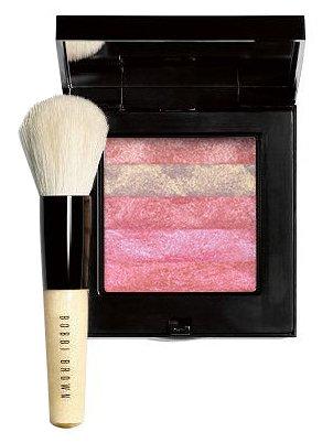 Bobbi Brown Lilac Rose Shimmer Brick Compact & Mini Face Blender ()