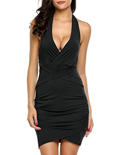 halter neck backless dresses - 6