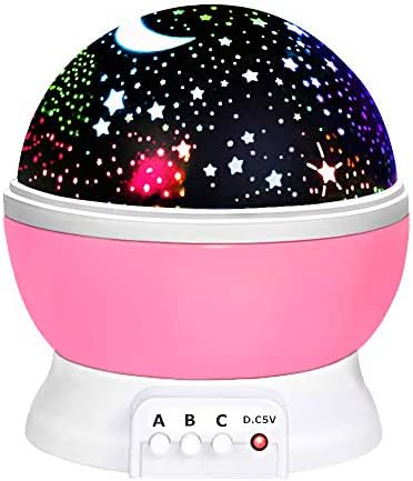 ATOPDREAM Amusing Moon Star Projector Light for Kids - Best Gifts