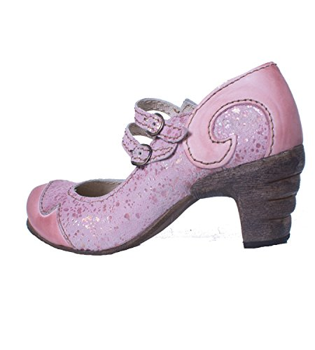 Rovers 51001 Crust Costa Viola Märchenhafte Sommer Pumps in Pink