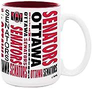 15 OZ Esprit Mug W Color Insert Ottawa Senators