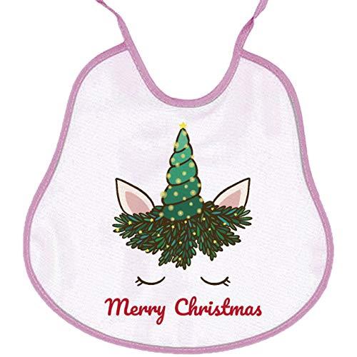 My Custom Style Baberos de formatos y Colores Surtidos, colección # Navidad B #: Amazon.es: Hogar