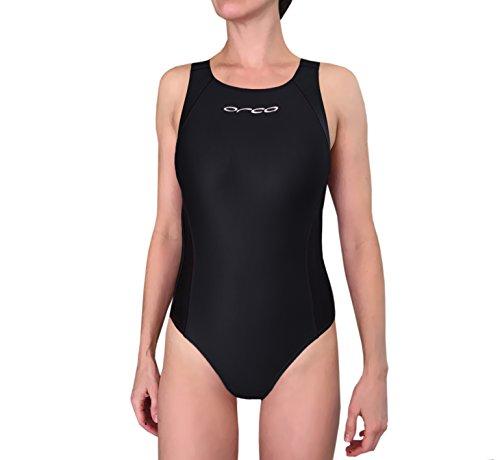 Orca Women's Race Tri Swimsuit W4501 (Black/Black, - Suit Tri Bathing