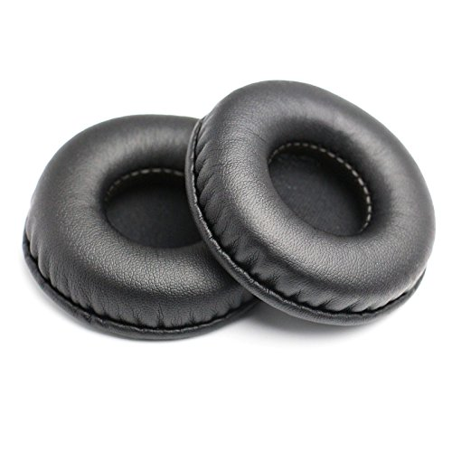 Headphones Replacement Earpads Ear Pads Cushion.Universal Fit For Most Headphone Models: AKG,HifiMan,ATH,Philips,Fostex,Sony,Beats by Dr. Dre and More (65mm) JZF-21 (Headphones Pads)