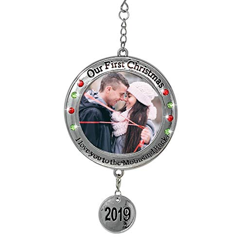 BANBERRY DESIGNS 2019 Our First Christmas Ornament - 1st Xmas Ornament Picture Opening - I Love You to the Moon and Back