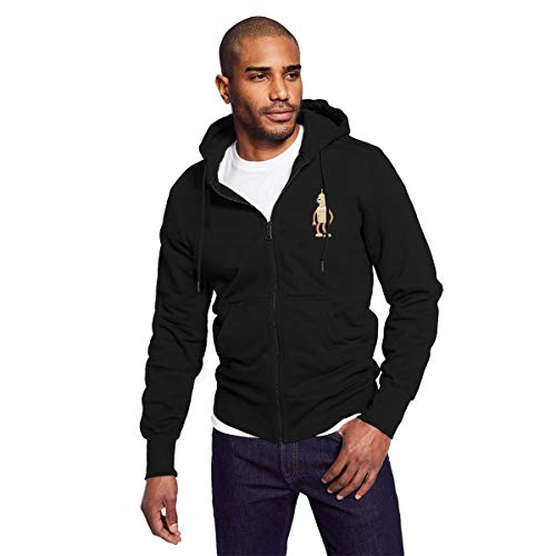 Rigg-hoodie Futurama Bender Direct-to-Video Films Men Black Zip-up Hoodie Casual Style Hooded Sweatshirt for $<!--$43.99-->