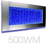 Bubble Panel Wall Mount Hanging Water Fountain