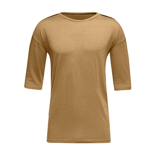 Top Tee Homme 3xl Musculation Courte Maillot M Kaki Tees Winjin Haut À Tee shirt Shirt Blouse Grande Sport Rond T Col Manche Ete Taille Slim shirt Rayure fpwW6Zq7