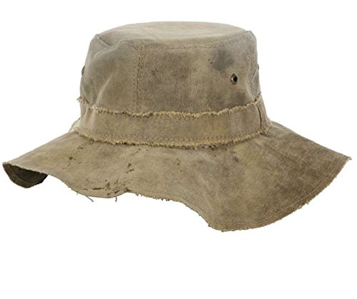 Recycled Tarp - The Real Floppy Hat Canvas (TRDFH) (XL)