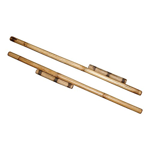 (Filipino Syatong Chato Game - 2 Wood Stick Sets: 2pc - 28