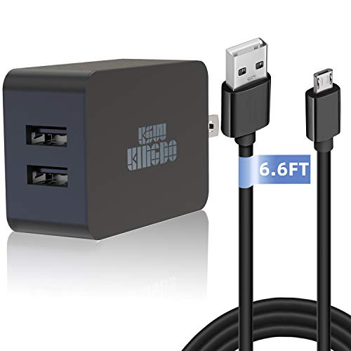 Best Deals! Kindle Fire Fast Charger, 5V 2.4A 24W Charger for Amazon Kindle Fire HD, HDX 6 7 8.9 ...