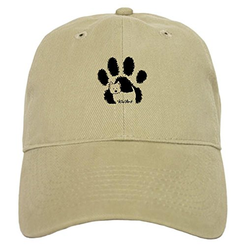 CafePress - Pawfect Westie Cap - Baseball Cap with Adjustable Closure, Unique Printed Baseball Hat (Westie Hat)
