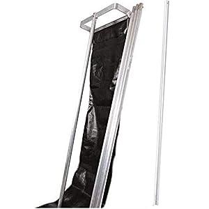 MinnSnowta Dynamo Roof Razor Snow Roof Rake with Extra 6′ Pole (Bundle, 2 Items)
