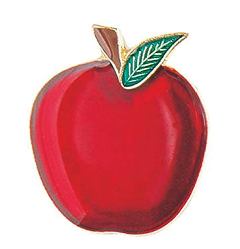 - 1 Red Apple Lapel Pin