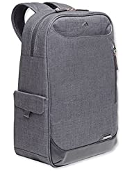 Brenthaven Collins Convertible 15-inch Laptop Backpack | Convert From Backpack to Tote, Vegan Leather Trim, Quilted...