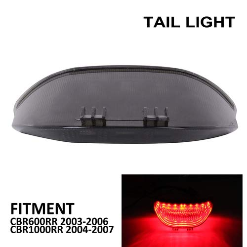 Motorcycle Rear LED Taillights Integrated Tail Signal light Lamp Brake Lights For HONDA CBR600RR CBR 600RR 600 RR 2003-2006 CBR1000RR 1000RR 1000 2004-2007 Street Motorcycle