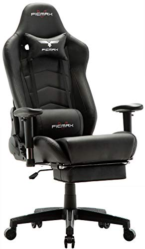 Ficmax Ergonomic Gaming Chair Massage Computer Gaming Chair...