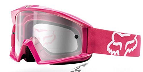 Fox Racing MAIN Goggle - Hot Pink Clear Lens Fox Main Goggles