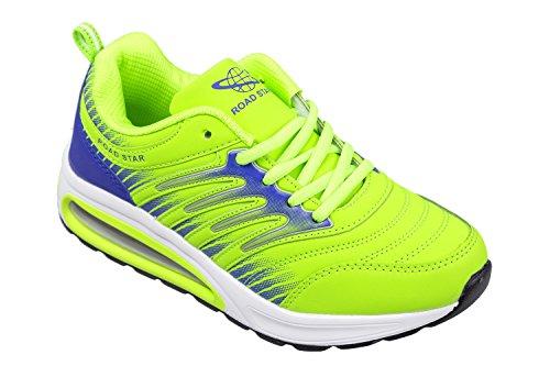léger taille baskets très fluo GIBRA confortable vert 36 et HTAx4q