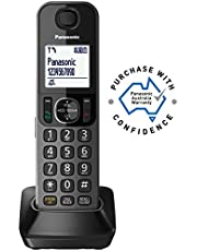 Panasonic KX-TGFA30AZM Additional Handset for Panasonic Phones KX-TGF380AZM and KX-TGF382AZM, Metallic Black