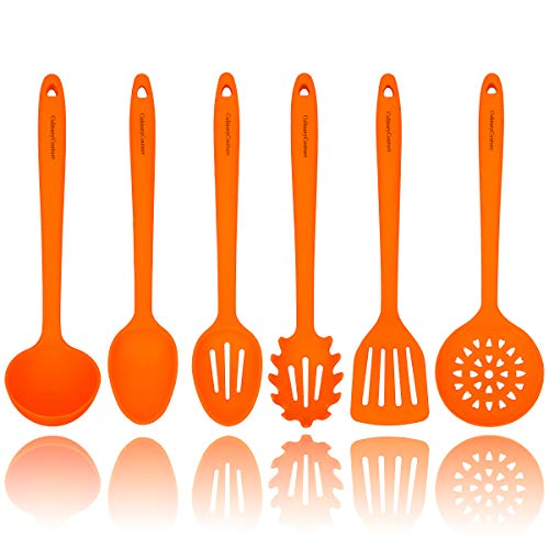 Orange Silicone Cooking Utensils Set product image