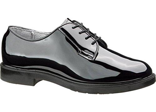Bates 743 Womens High Gloss Uniform Oxford Shoe 9.5D (M) US