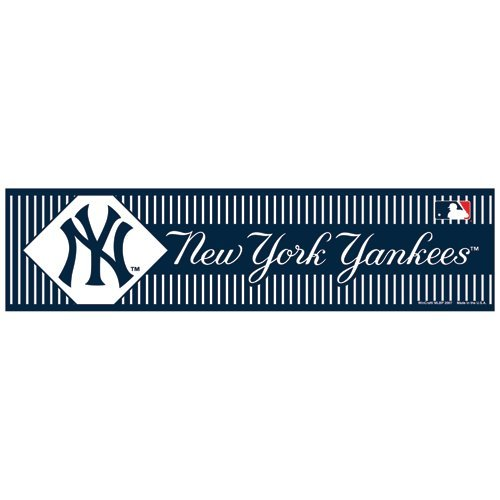 Wincraft mlb new york yankees wcr36829071 bumper strip 3 x 12