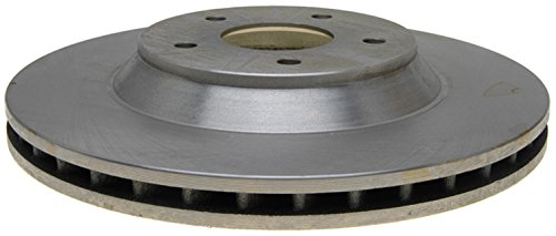 ACDelco 18A684A Advantage Non-Coated Front Driver Side Disc Brake Rotor