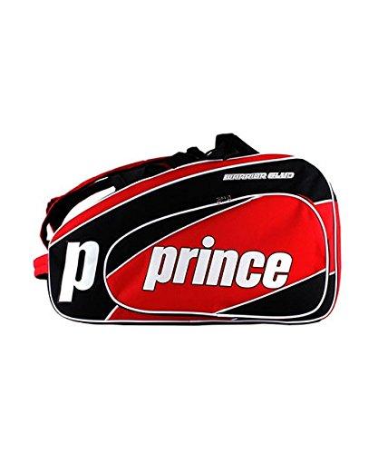 Prince PALETERO Padel Warrior Club Rojo Negro: Amazon.es ...