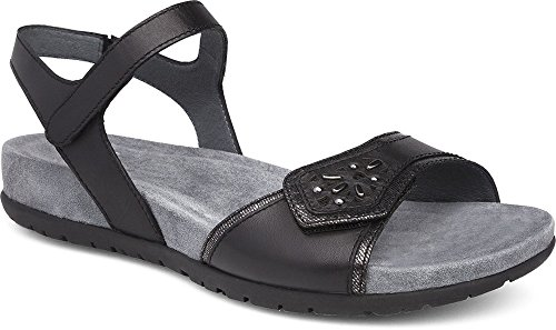 Dansko Womens Sandals Blythe Black, Size-37 by Dansko Shoes