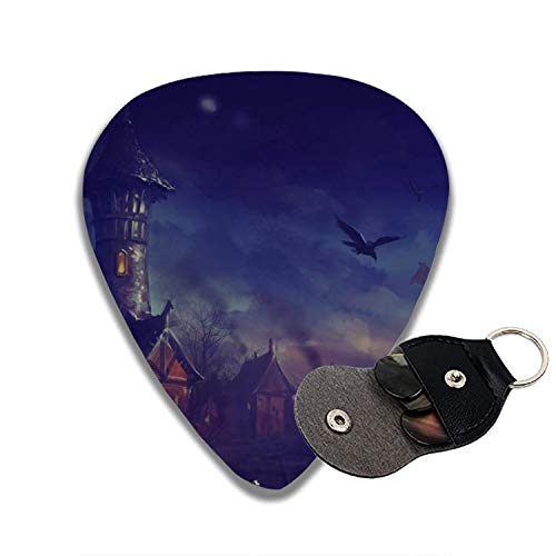 Halloween Night Celluloid Guitar Picks 6-pcs for Electric Acoustic Guitar