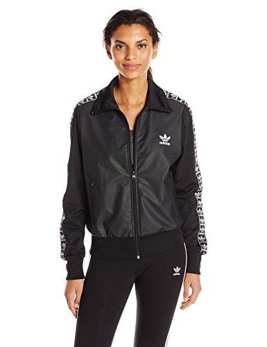 Firebird Women Track (adidas Originals Women's Tops Firebird Track, Black/Berlin Linear Logo, X-Large)