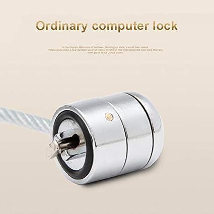perg Transferencia Anti-Theft Office Ordenador Portatil Candado de Seguridad para Kensington Lock Laptop Ultrabook