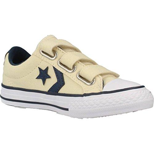 Zapatillas para ni�o, color Amarillo , marca CONVERSE, modelo Zapatillas Para Ni�o CONVERSE CHUCK TAYLOR STAR PLAYER 3V OX Amarillo Multicolor