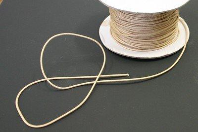 10 YARDS: TAN 1.4 MM Professional Grade Braided Lift Cord