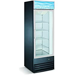 Single Door Upright Display Freezer - D368BMF