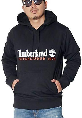 プルオーバーパーカー メンズ スウェット 裏起毛 Timberland USA ツリーロゴ 大きいサイズ [並行輸入品]