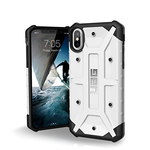 Urban Armor Gear Pathfinder Feather-Light Rugged Military Drop Tested Case for 5.8-Inch iPhone X - White