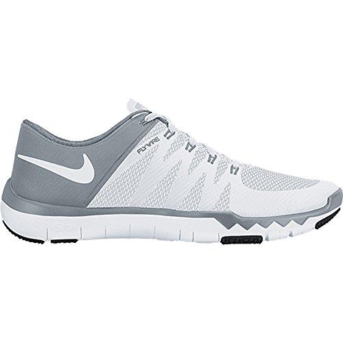 - Nike Men's Free Trainer 5.0 V6 Training Shoe White/Dove Grey/Pure Platinum/White Size 9 M US
