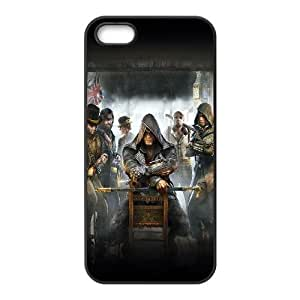 iPhone 5 5s Cell Phone Case Black assasins creed game Hnarr