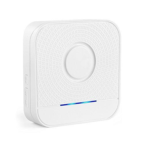 - BITIWEND Doorbell Receiver,1000-feet Range, 52 Chimes Optional, 4 Level Volume, LED Indicator