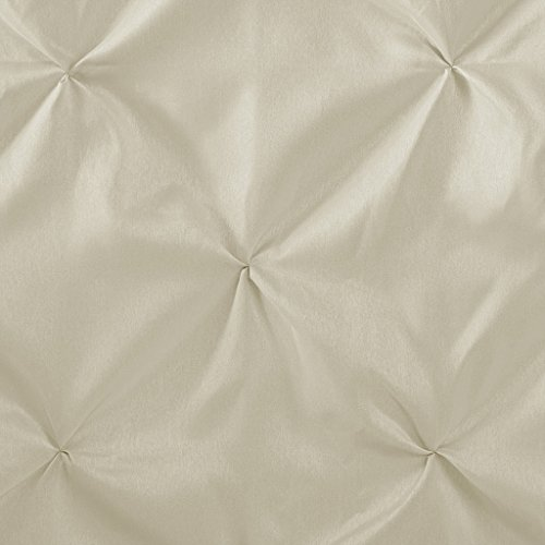 Madison Park Laurel Polyester Shower Curtain Color: Ivory,